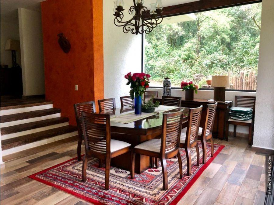 casa en venta en rancho avandaro
