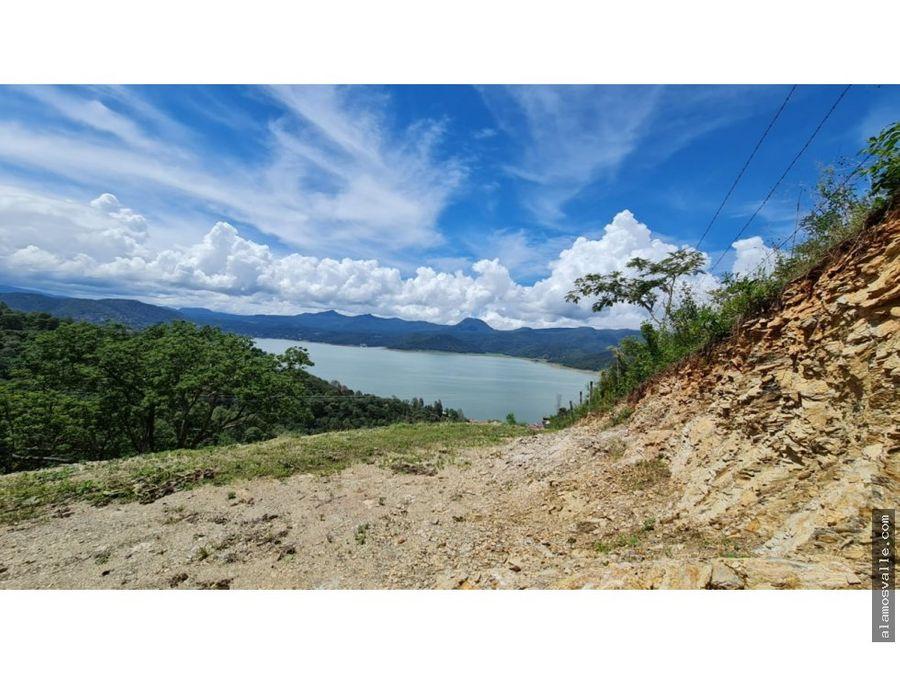 terreno en venta en san gaspar con vistas al lago