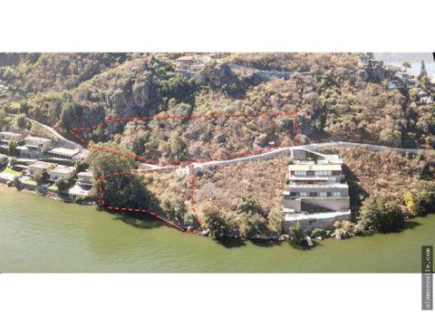 terrenos con acceso y vista al lago