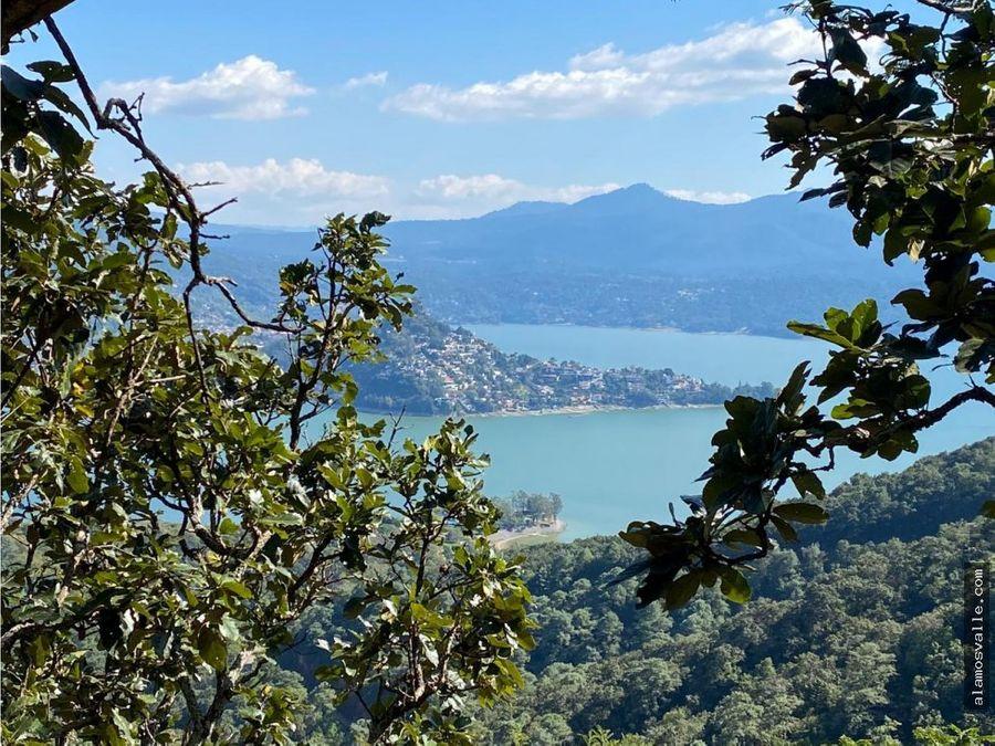 terrenos en venta vista al lago santuario valle de bravo
