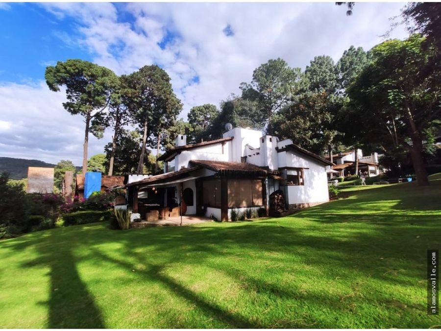 casa en condominio ruta del bosque
