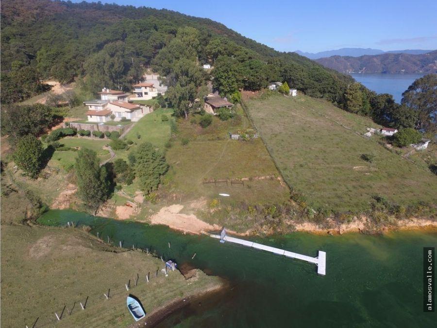 terreno venta al lago valle de bravo cerrillo acceso izar