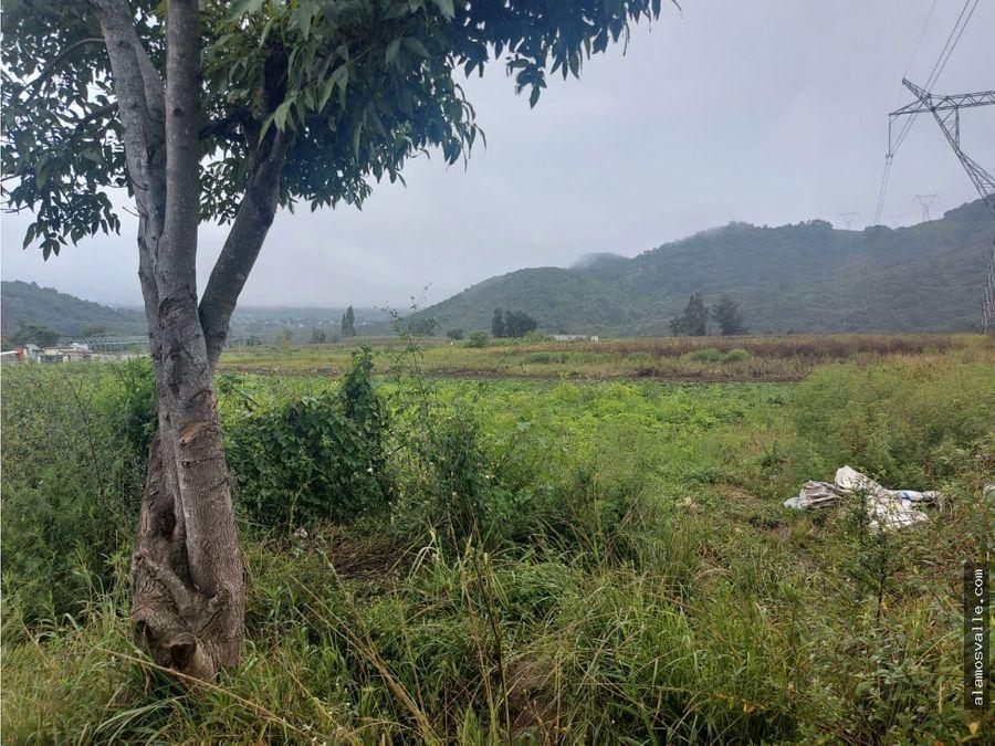 terreno en venta tiloxtoc valle de bravo