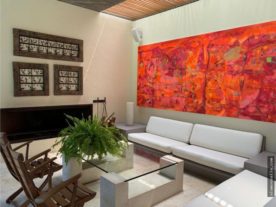 casa contemporanea con vistas unicas en avandaro
