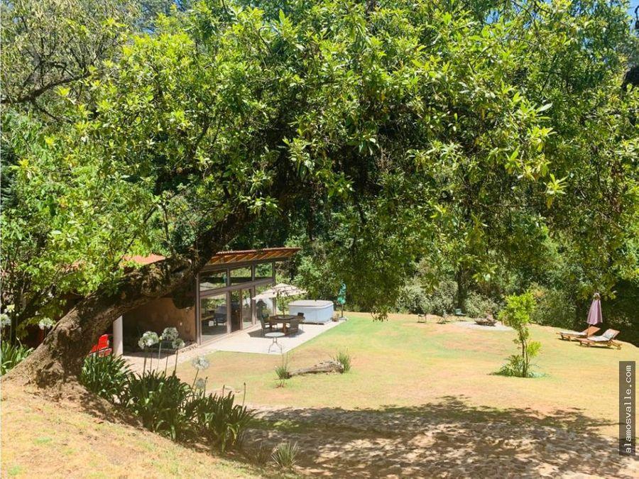 rancho en venta los alamos valle de bravo