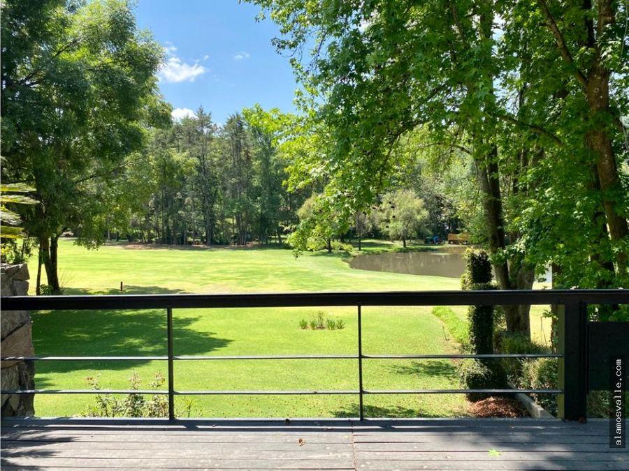 casa club de golf acceso al fairway