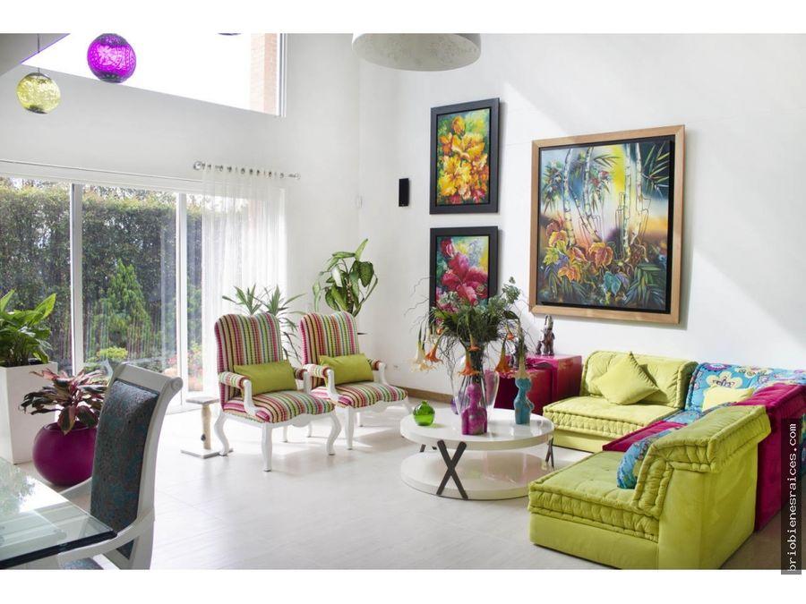 venta hermosa casa envigado loma del escobero
