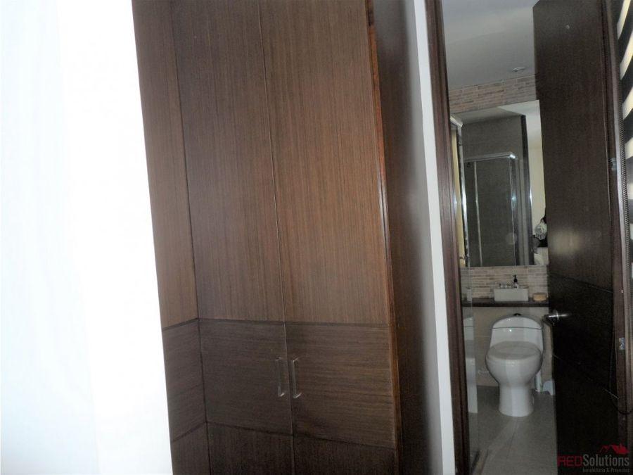 apartamento amoblado en santa barbara