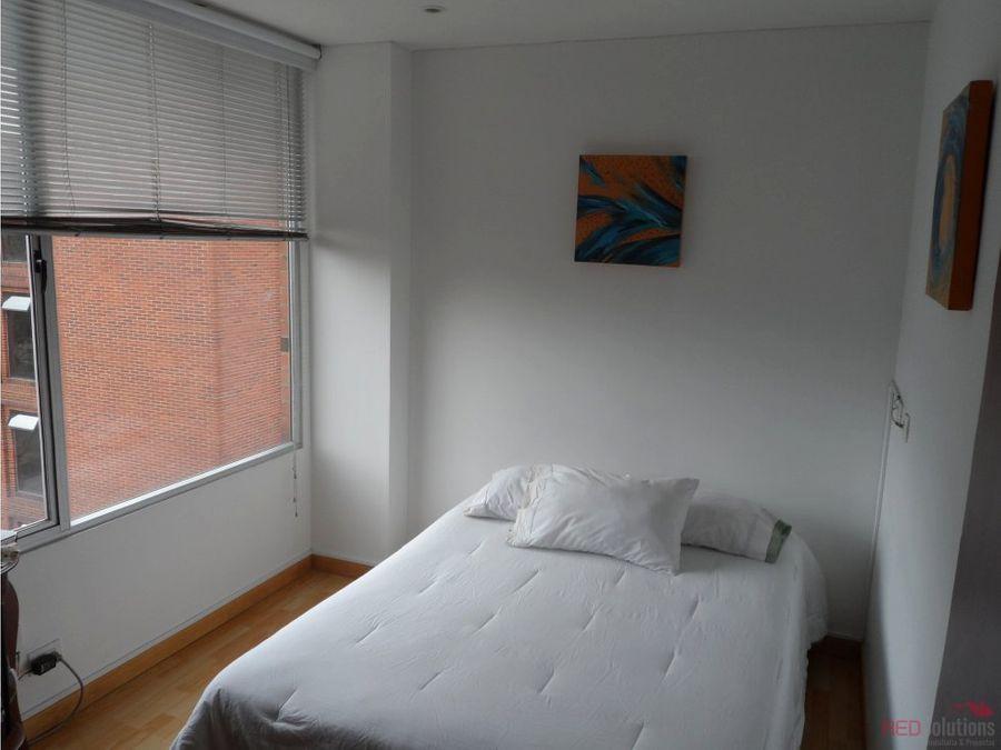 apartamento amoblado en venta chico norte