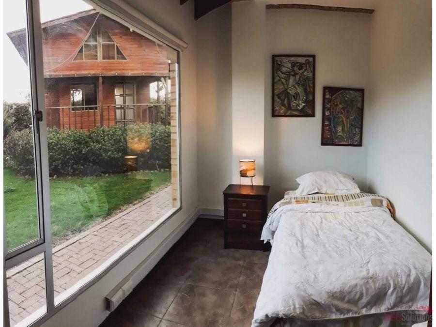 oportunidad casa en venta chia fagua
