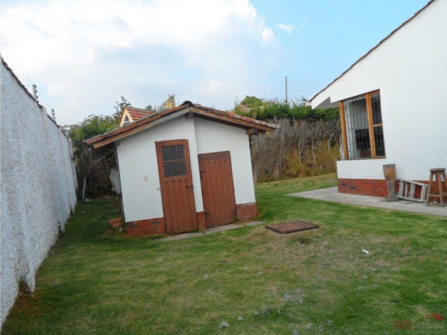 casa en venta chia camino la floresta