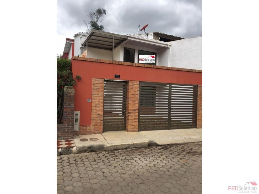 casa en venta subachoque la pradera