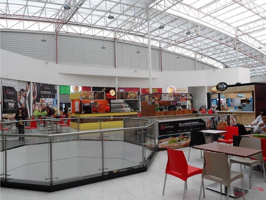 local en arriendo centro comercial galerias