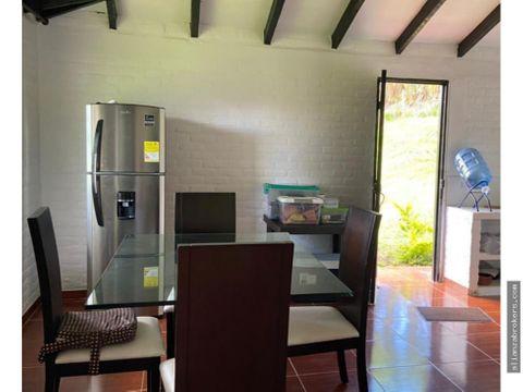 acogedora casa campestre parcelacion via lago calima