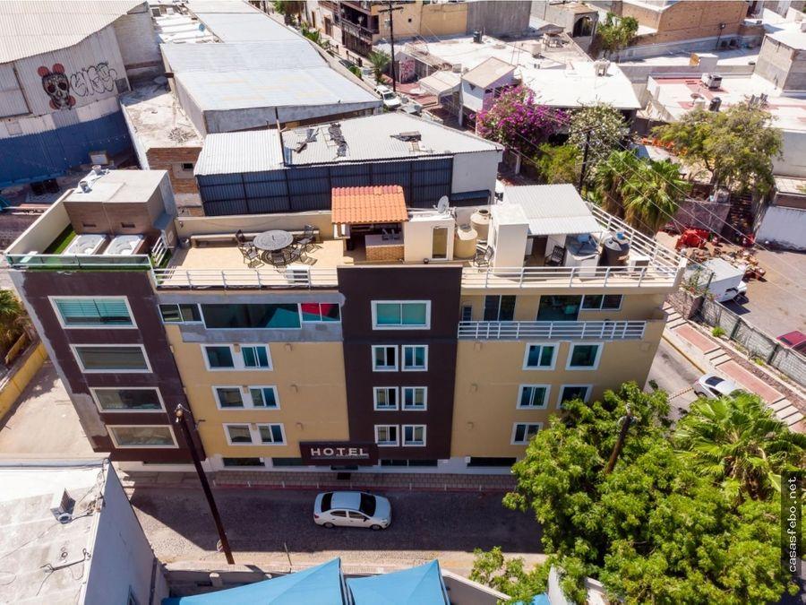 hotel baja south en la paz en venta