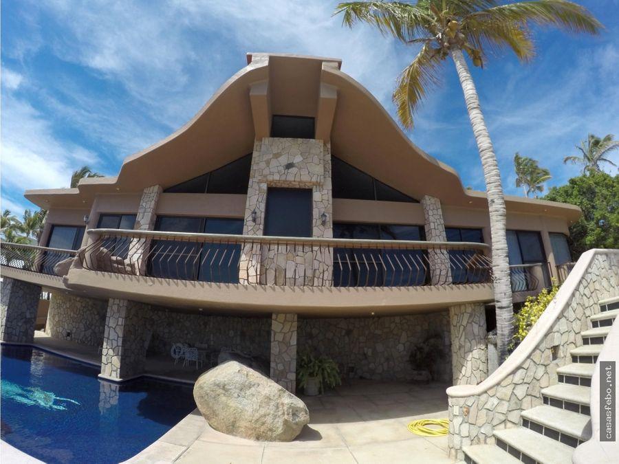 casa en venta en los cabos playa el medano cabo san lucas