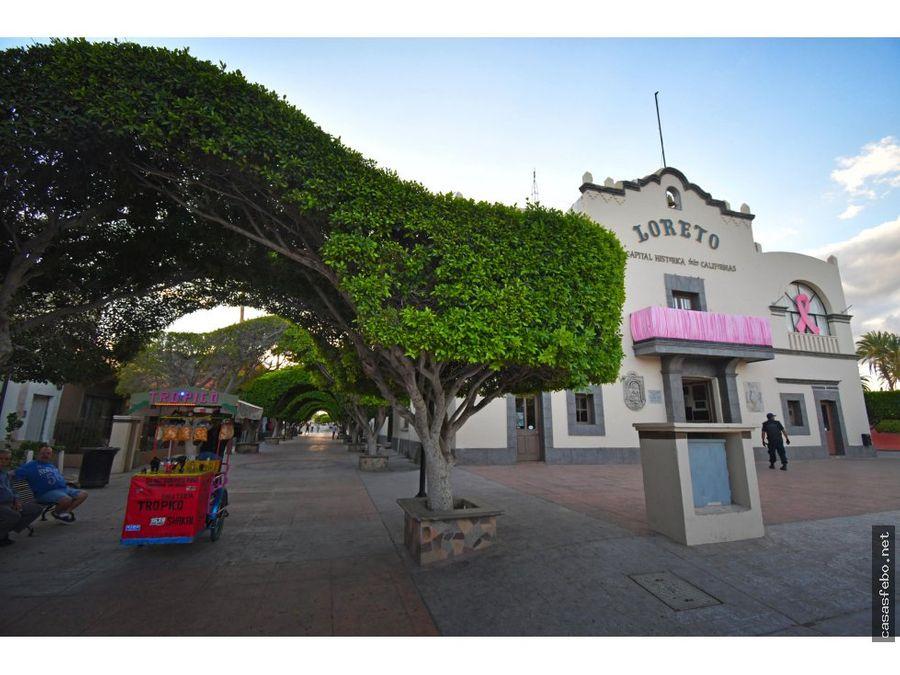 terreno en venta en loreto residencial nuevo loreto