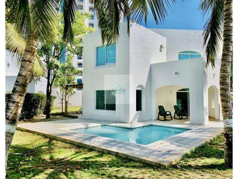 alquiler casa 3 habitaciones playa bello horizonte santa marta