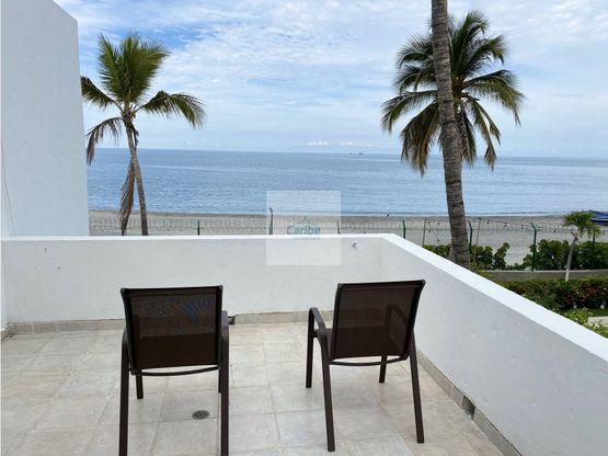 alquiler casa 3 habitaciones frente playa bello horizonte santa marta