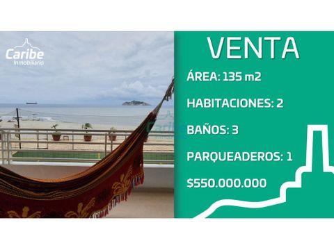 venta apartamento en bellavista frente al mar