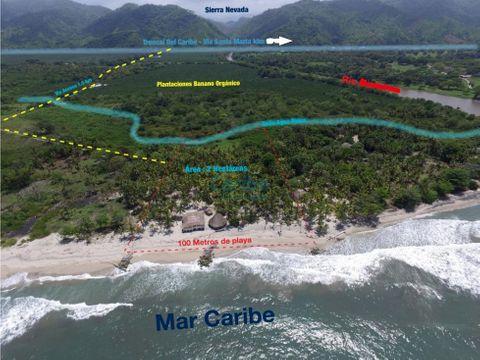 venta casa lote playa guachaca buritaca tayrona