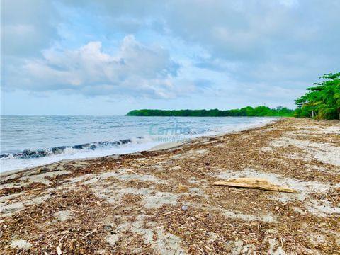 venta lote con playa en tayrona buritaca guachaca santa marta