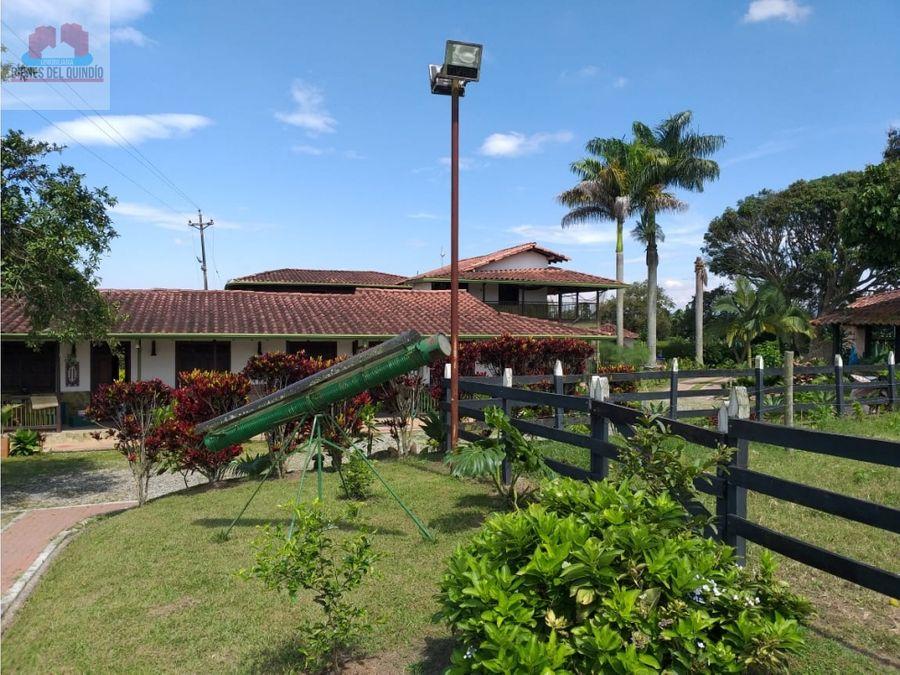 se vende finca via pueblo tapao quindio colombia
