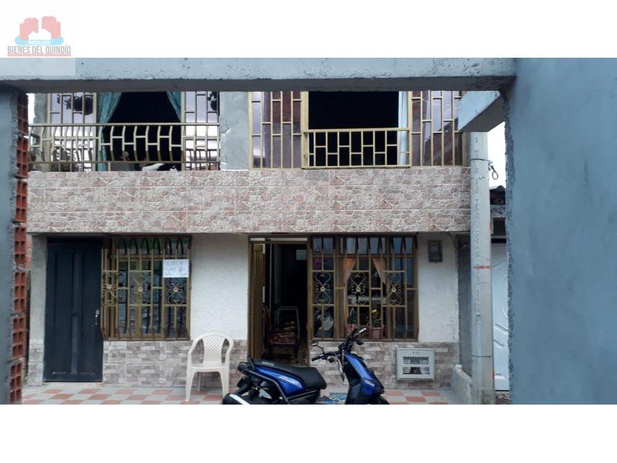 se vende casa en montenegro quindio colombia