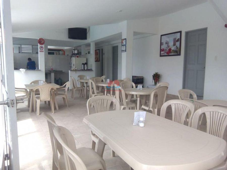 finca hotel para la venta en montenegro