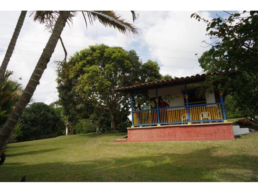 se vende casa lote via tebaida quindio colombia