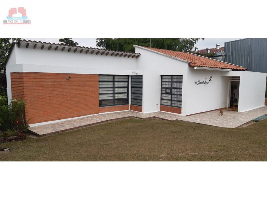 se vende casa campestre via al eden quindio colombia