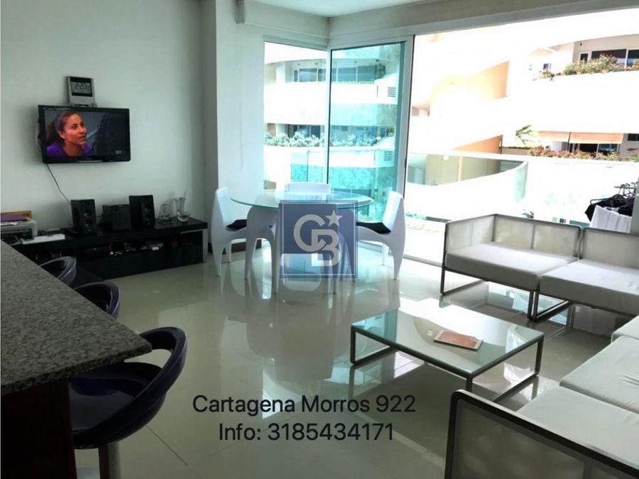 1907161lb venta apartamento morros cartagena
