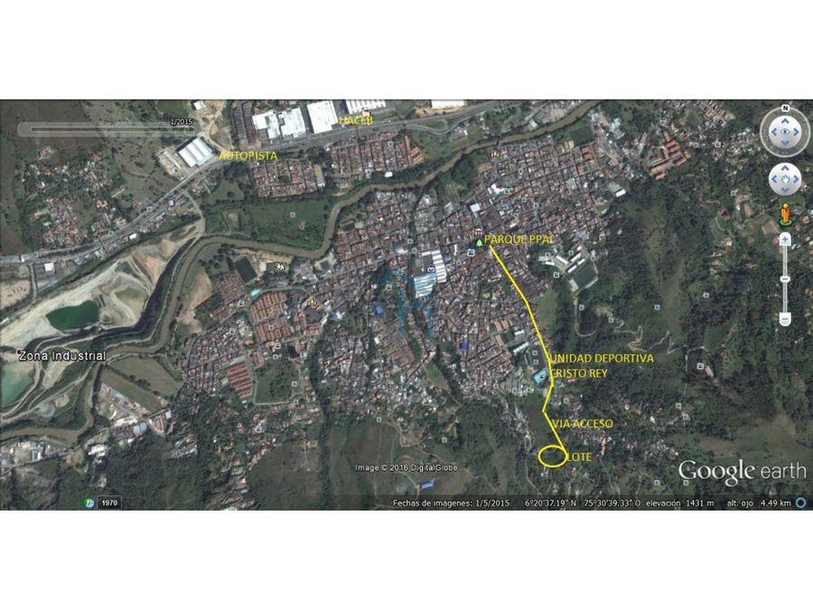 2360206ca venta de lote en copacabana antioquia