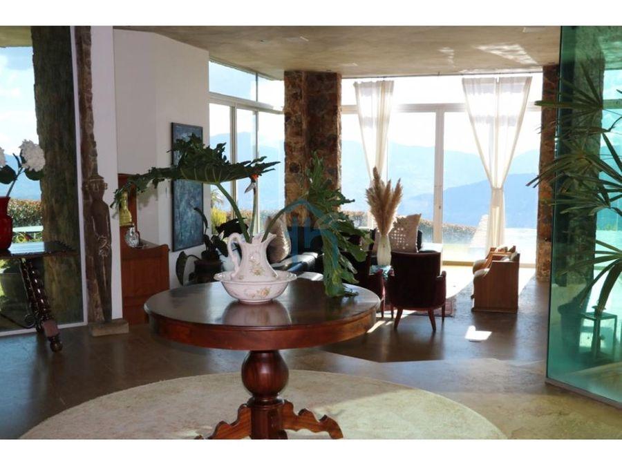 3694445ca venta de casa campestre en las palmas medellin