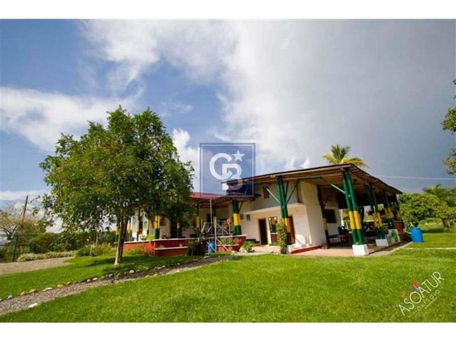630109vb venta finca hotel parque del cafe