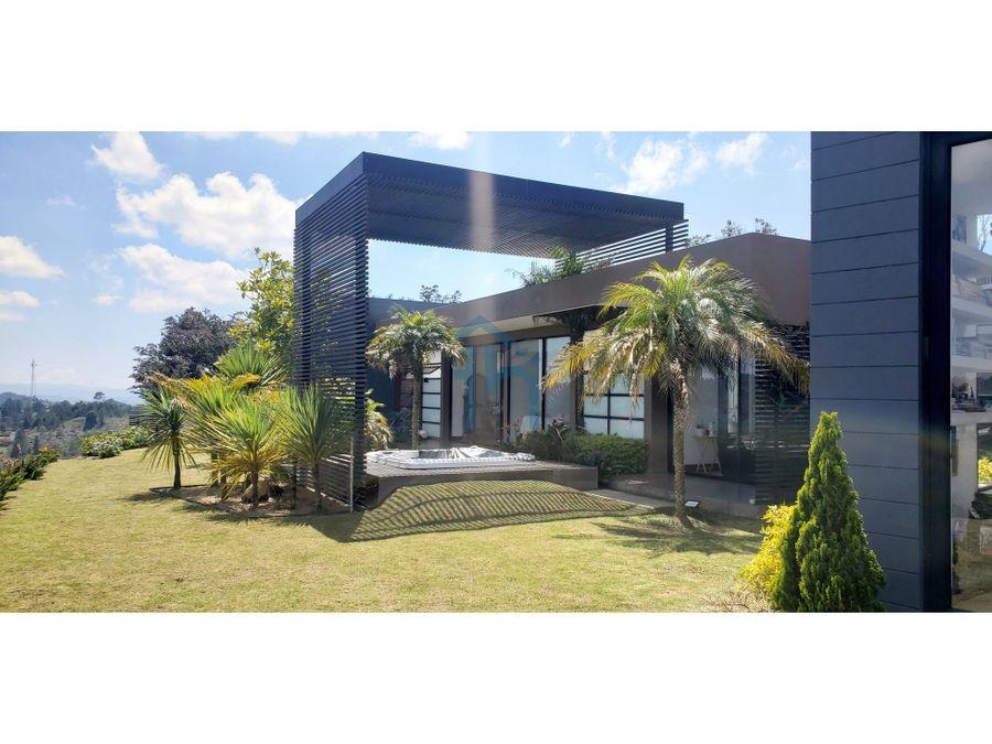 3702034ca venta de casa en el alto de las palmas medellin
