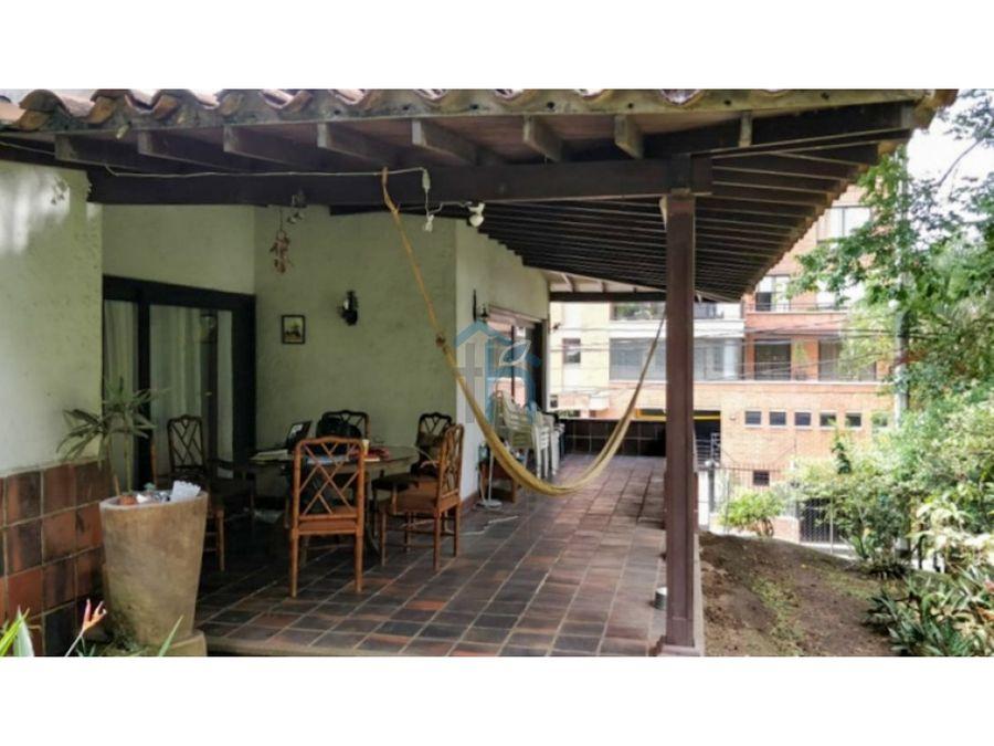 4596383ma venta de casa lote en loma de alejandria el poblado