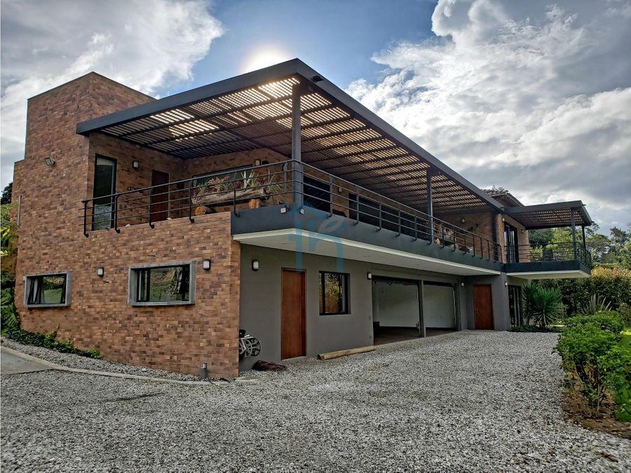 615003 venta de casa campestre llanogrande