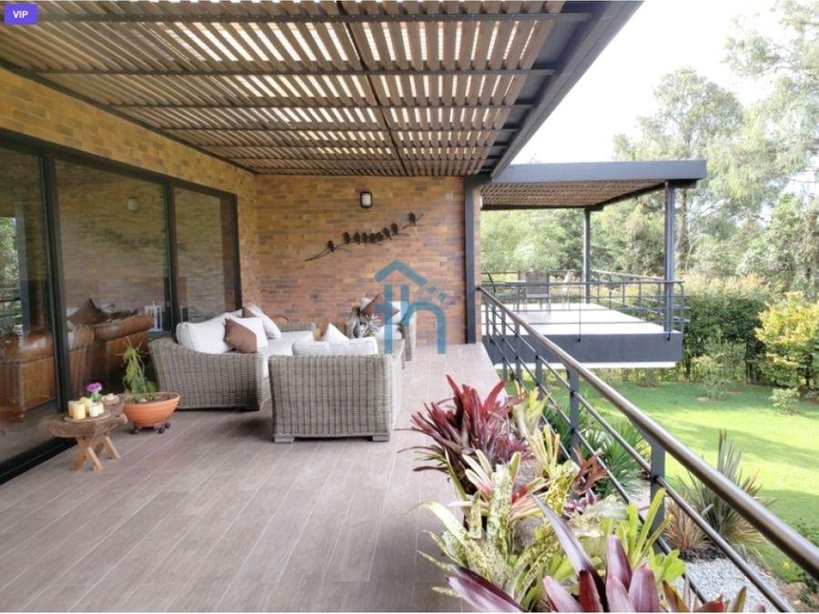 3694478ca venta de casa campestre en llano grande rionegro