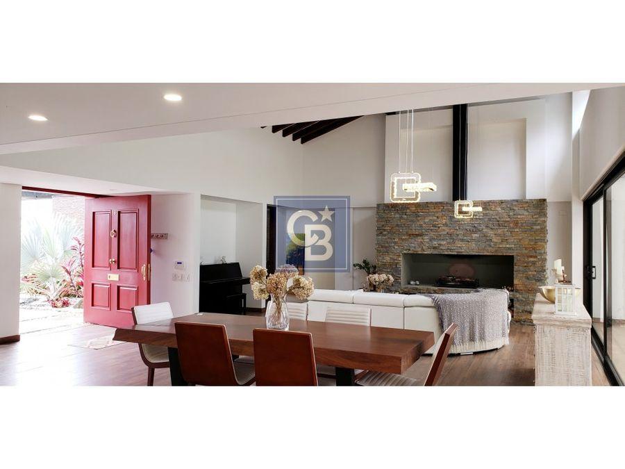 2574363ca venta lujosa casa en llanogrande