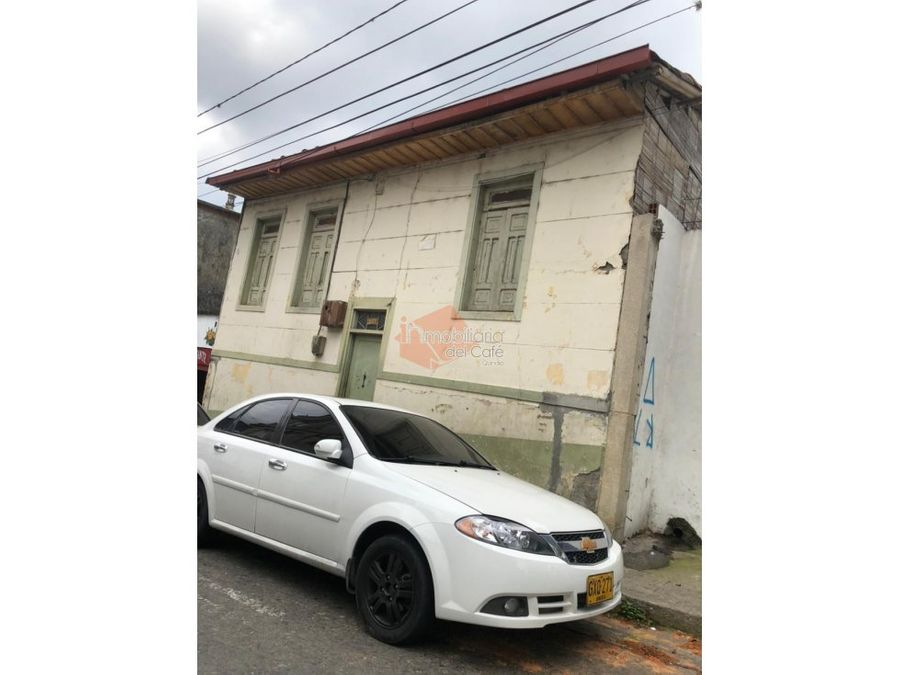 venta casa lote centro armenia quindio cod 4023686