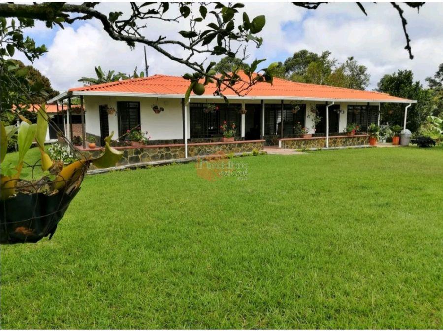 venta casa campestre circasia quindio cod 4457324
