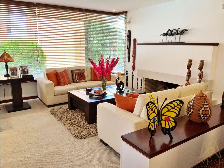 apartamento para la venta en bosque medina usaquen bogota