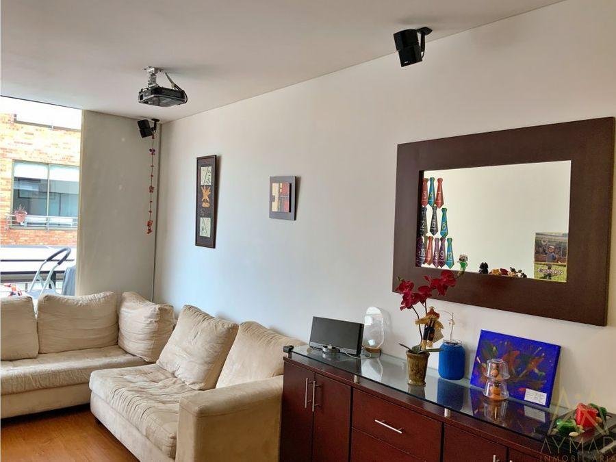 apartamento para la venta en santa barbara usaquen bogota