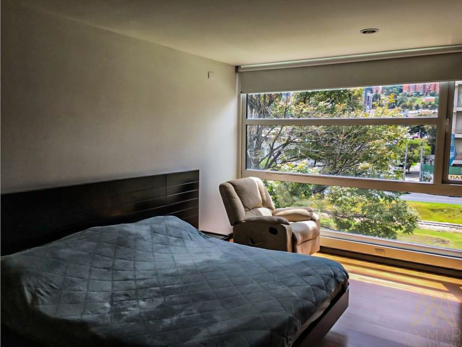 apartamento para la venta en santa barbara central usaquen bogota