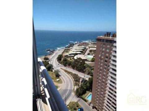 se vende hermoso departamento con excelente vista al mar