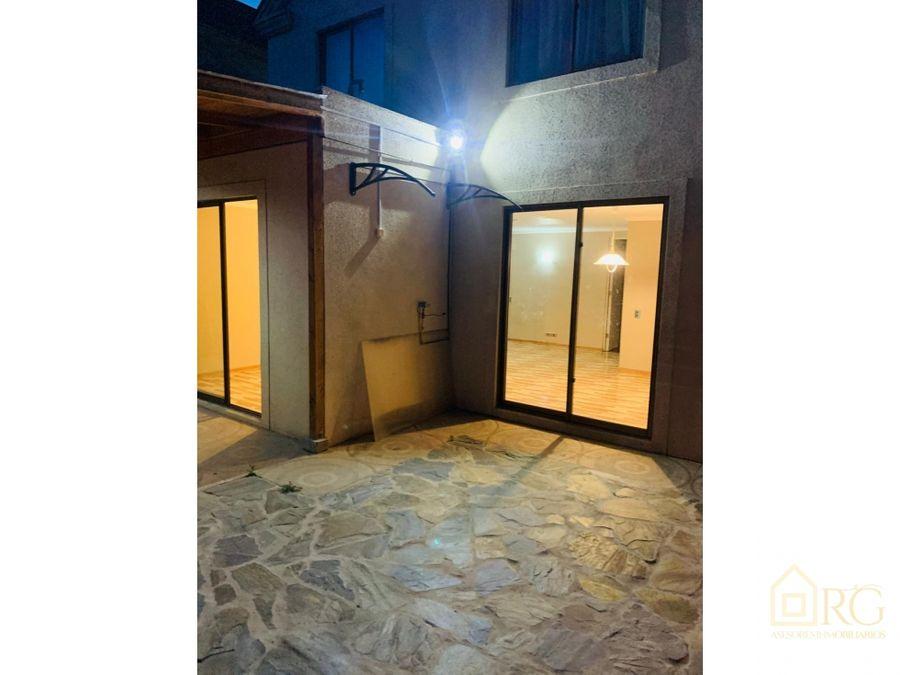 hermosa casa en exclusivo condominio en quilpue a 5min de vina del mar