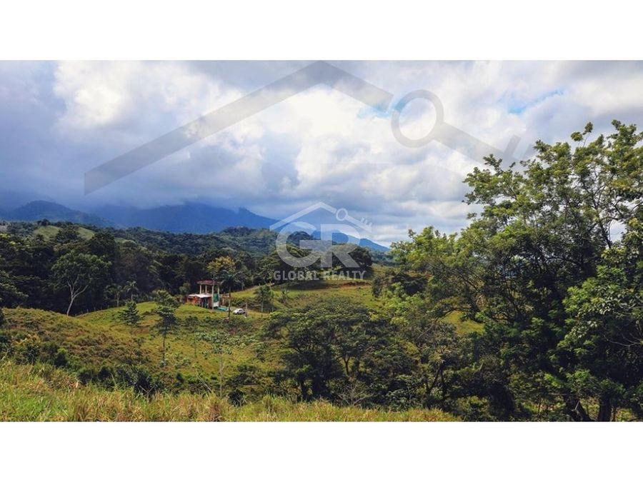 venta de terreno en proyecto ecologico en parrita san josecr 1662