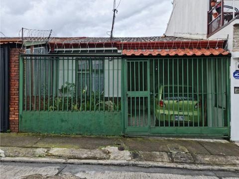 se vende casa residencial una sola planta san francisco de dos rios