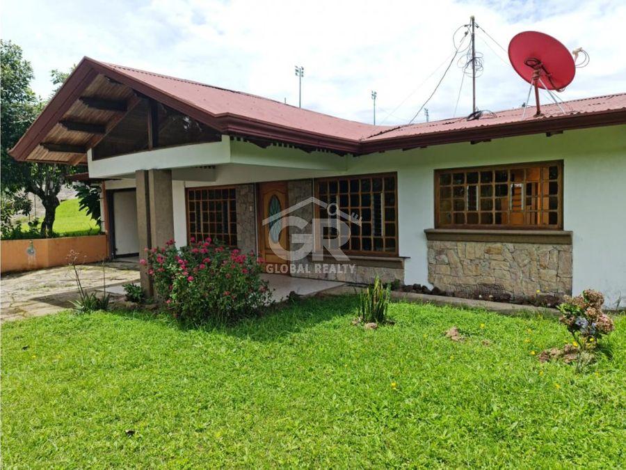 en venta casa residencial pacayas cartago